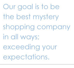 Mystery Shopping Shoppers
